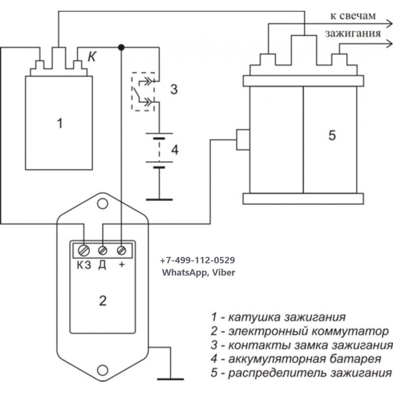 Схема подключения коммутатора в газели