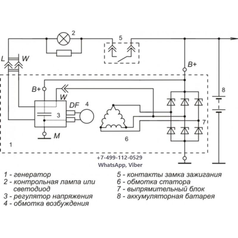 схема подключения регулятора я112