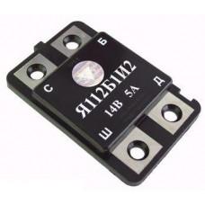 Реле регулятор напряжения Я112Б1И2 зарядки