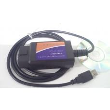 Автосканер ошибок  ELM327 USB