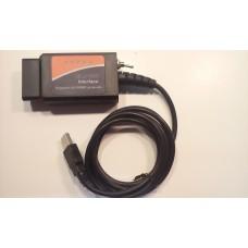 Автосканер ошибок  ELM327 USB  ELM327 USB V1.5 ford elmconfig CH340 + 25K80 чип HS-CAN/MS-CAN